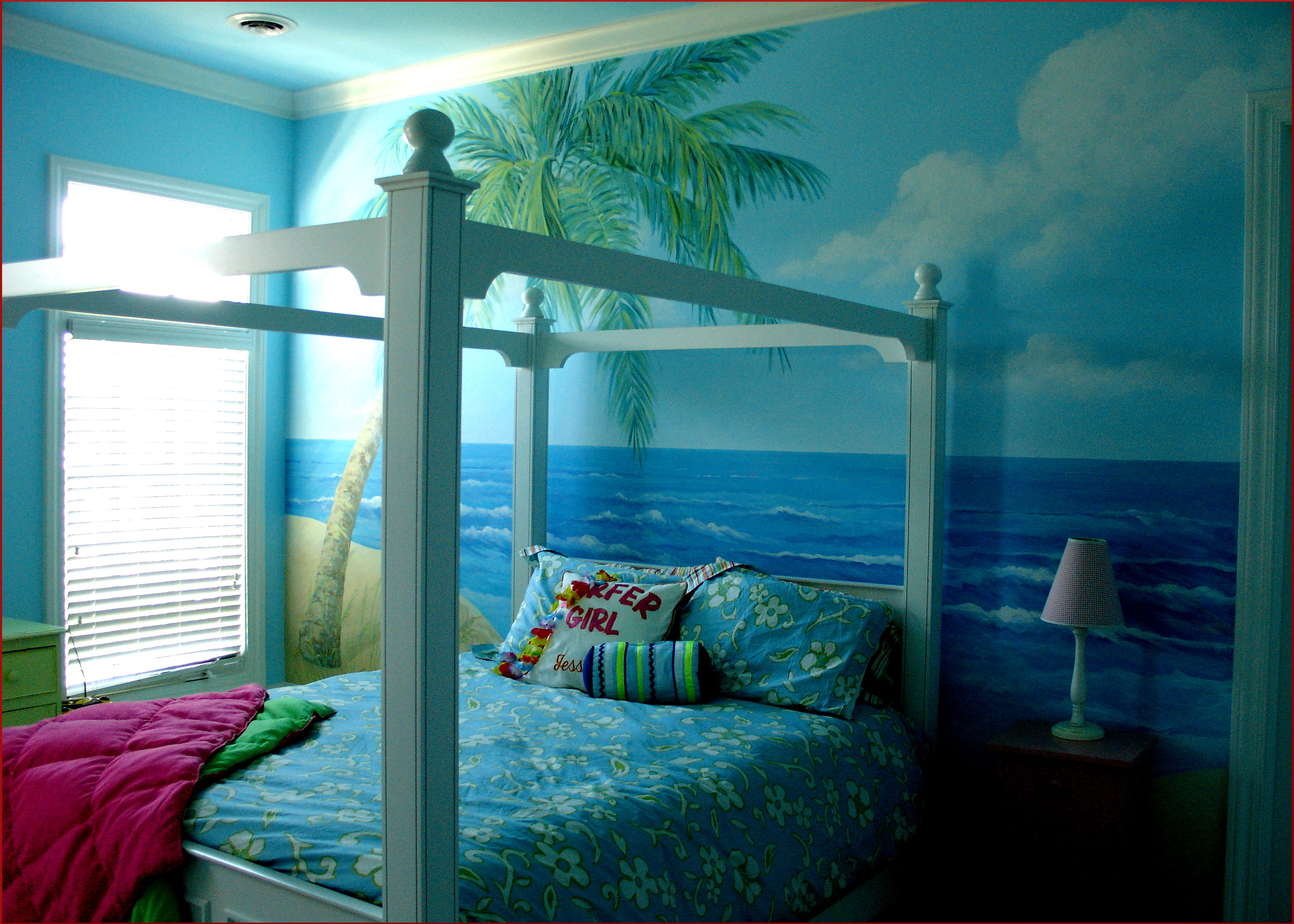 Michael j romeo assoc kids murals for Bedroom mural painting